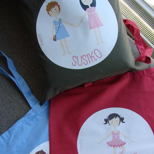 Bolsas de algodón personalizadas