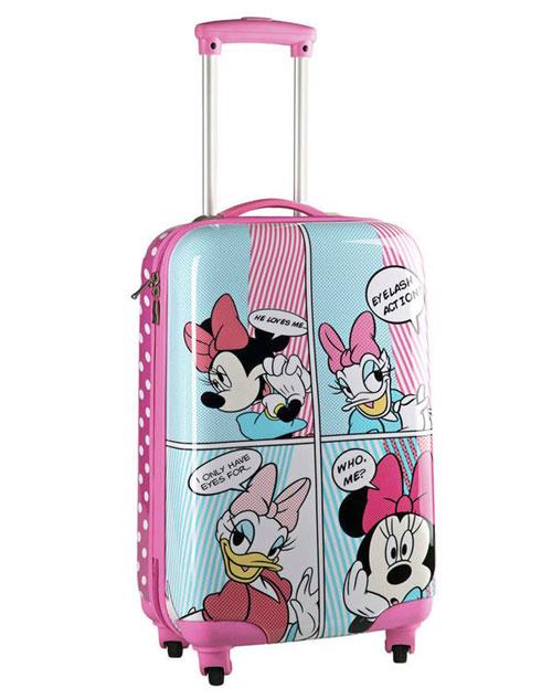Maleta para niñas Minnie & Daisy