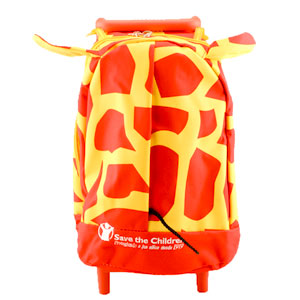 Mochila trolley Jirafa de Save the Children