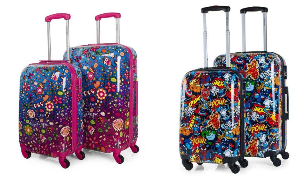 Kukuxumusu maletas ideales para jóvenes, coleccioes
